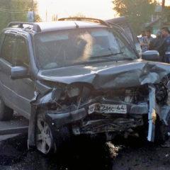Появились первые фотографии со смертельного ДТП с 4-летним ребенком в Саратовской области