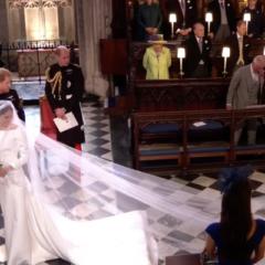 Гости в ужасе от конфуза на свадьбе принца Гарри и Меган Маркл, смешно было лишь Бэкхэму (ВИДЕО)