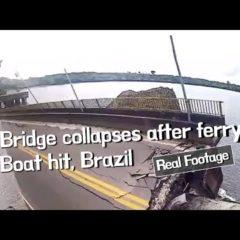 На севере Бразилии обрушилась часть моста