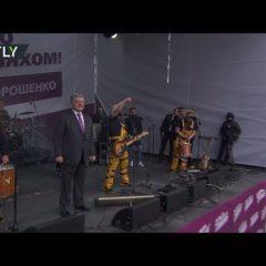 «Главный клоун страны»: в Сети высмеяли станцевавшего Порошенко