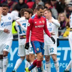 ЦСКА впервые в сезоне пропустил три гола в чемпионате России