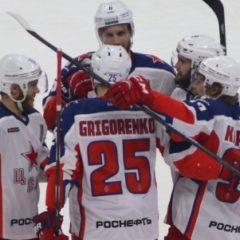 ЦСКА вышел вперед в полуфинальной серии Кубка Гагарина против СКА