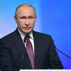 Путин назвал потепление в Арктике тревожной тенденцией
