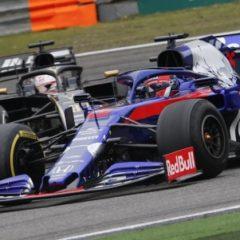 Даниил Квят разбил болид перед гонкой «Формулы-1»