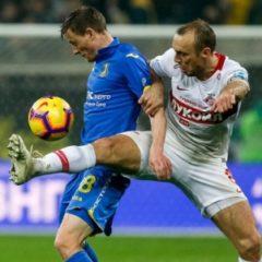 Видео: Второе подряд поражение «Спартака» и сенсация в Кубке Стэнли
