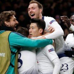 «Манчестер Сити» проиграл «Тоттенхэму» в четвертьфинале Лиги Чемпионов