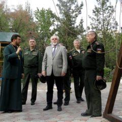 Общественный совет при Минобороны посетил российскую военную базу в Душанбе