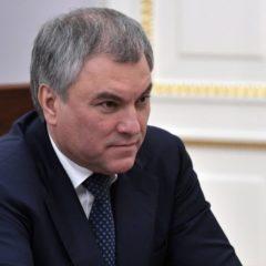 Володин предложил допустить Госдуму к формированию правительства