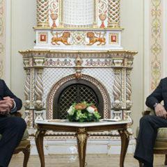 Путину понравилась картошка, подаренная Лукашенко на Новый год