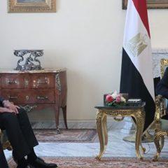 В Каире началась встреча Сергея Лаврова с президентом Египта