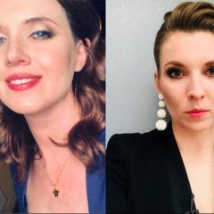 Обещавшая «поджечь вату» украинская журналистка вызвала на «батл» Скабееву
