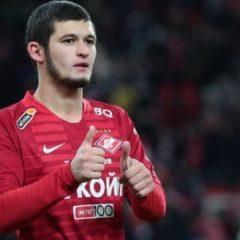 СМИ сообщили об исключении Аяза Гулиева из основного состава «Спартака»