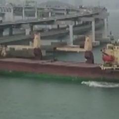 Столкнувшееся с мостом в Южной Корее российское судно находится под арестом