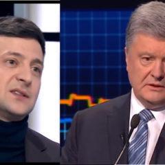 Давай, до свидания: Зеленский ответил Порошенко в прямом эфире