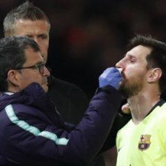 СМИ узнали сроки восстановления Лионеля Месси после травмы носа