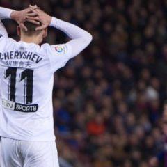 Денис Черышев выбыл до конца сезона из-за травмы колена