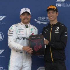 Валттери Боттас выиграл вторую квалификацию подряд в «Формуле-1»