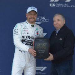 Боттас выиграл квалификацию перед 1000-й гонкой в истории «Формулы-1»