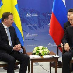 Власти Швеции заявили о стремлении углублять сотрудничество с Россией