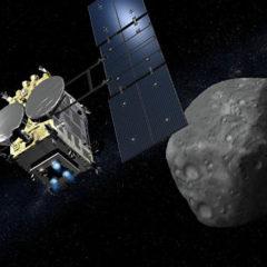 «Хаябуса-2» успешно пережила «бомбардировку» астероида Рюгю
