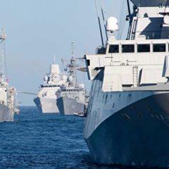 Корабли Черноморского флота начали дежурство в районе учений НАТО