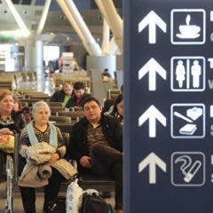 В московских аэропортах задержали и отменили более 30 рейсов