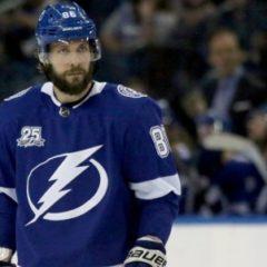 НХЛ завела дело против Никиты Кучерова за толчок соперника на борт