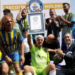 73-летний израильский футболист вошел в Книгу рекордов Гиннесса
