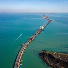 СМИ Украины показали на фото фатальные проблемы опустевшего Крымского моста
