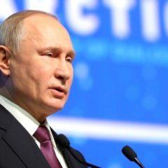 Путин поддел премьера Швеции цитатой из «Полтавы»