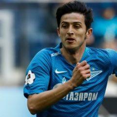 Азмуна признали лучшим игроком тура в чемпионате России по футболу