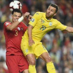 Сборная Украины избежала наказания за выступление бразильского футболиста