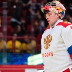 Сборная России по хоккею назвала основного вратаря на матч с Чехией