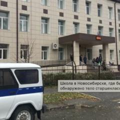 Труп ребенка обнаружен в школьном туалете в Новосибирске