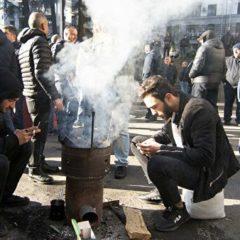 В Тбилиси водометами разогнали митингующих у парламента оппозиционеров