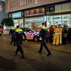 В Гааге неизвестный с ножом напал на прохожих