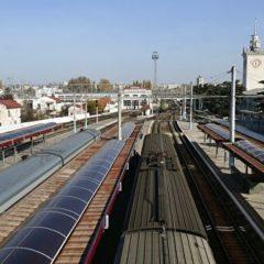 На севере Крыма планируется увеличить скорость движения поездов