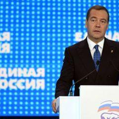 Медведев проголосовал на выборах нового генсовета «Единой России»