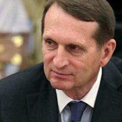 Нарышкин не знает о задержании в Сирии организатора терактов в России