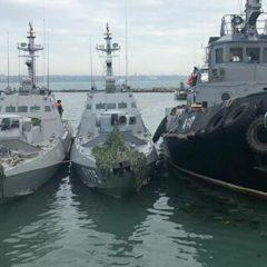 СМИ: Россия передаст Украине задержанные в Керченском проливе корабли