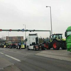 В Берлине затруднено движение из-за акции протеста фермеров