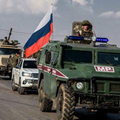 Российские военные отчитались о патрулировании в Сирии